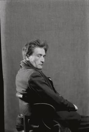 Antonin Artaud, French playwright, actor and theorist of the theatre: (September 4, 1896 – 1948) - one of the great creative madmen of the 20th C.    Famous portrait of Artaud, 1926 - by Man Ray