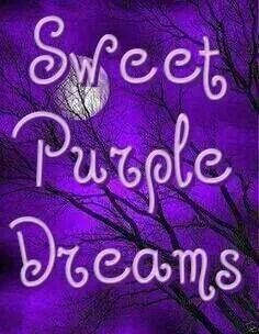 ...for all you purple fans!