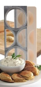 PIEROGI MAKER W/ PRESS http://www.coast2coastkitchen.com/store/specialty-kitchen-tools/ethnic-cooking/pierogi-maker-w-press-