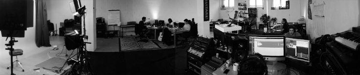 Les locaux de HGuitare.com, cours de guitare en ligne