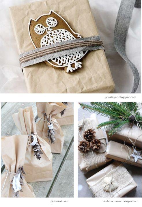 Pakowanie prezentów - pomysły, inspiracje, christmas gift wrapping