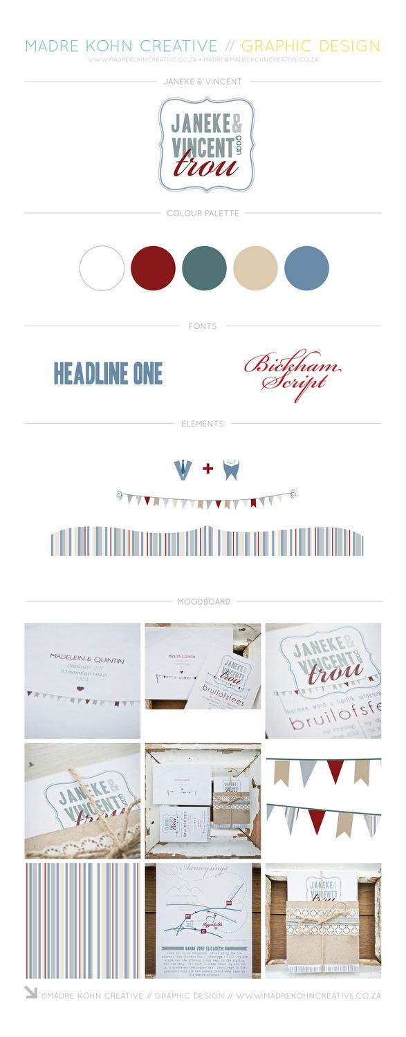 Quirky vintage wedding festival inspired stationery by Madre Kohn Creative. http://www.madrekohncreative.co.za/