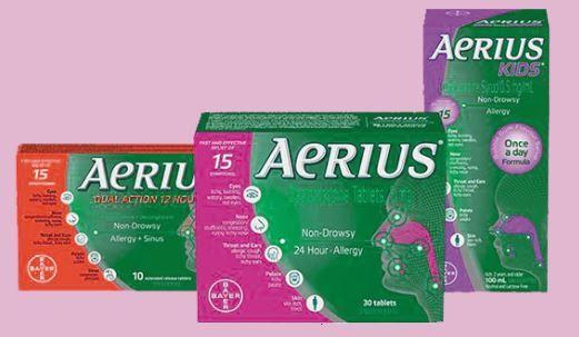طبيبكم دواء Aerius ايريوس Sinusitis Allergies Gum