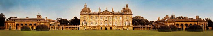 Houghton Hall, in Norfolk, England, was built by Horace's father, Sir Robert Walpole, the first prime minister.