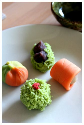 autumn nerikiri (japanese sweets) | Flickr – Compartilhamento de fotos!