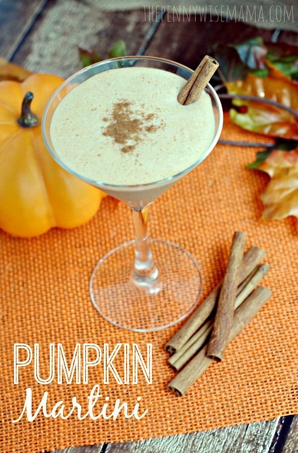 Pumpkin Martini - smooth, delicious and simple to make!