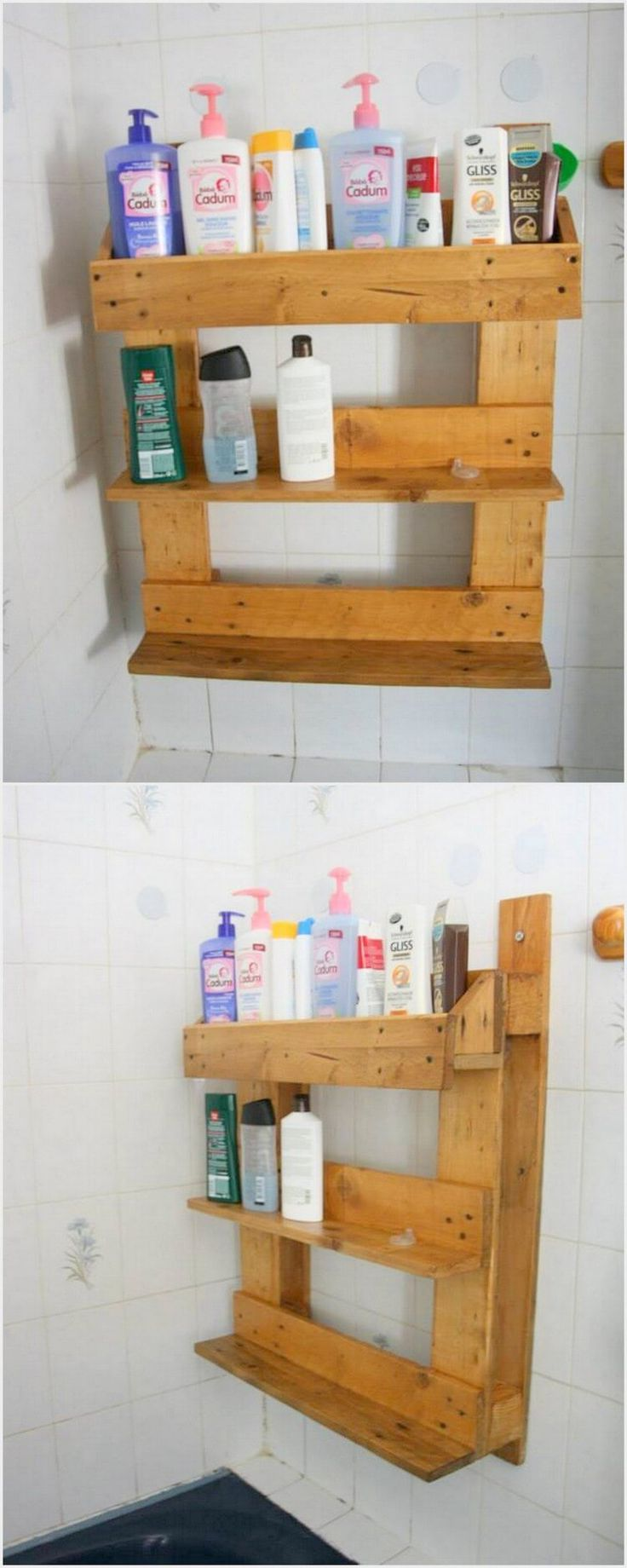 Imaginative ideas with old wood pallets pallet bathroom for Bathroom ideas made from pallets