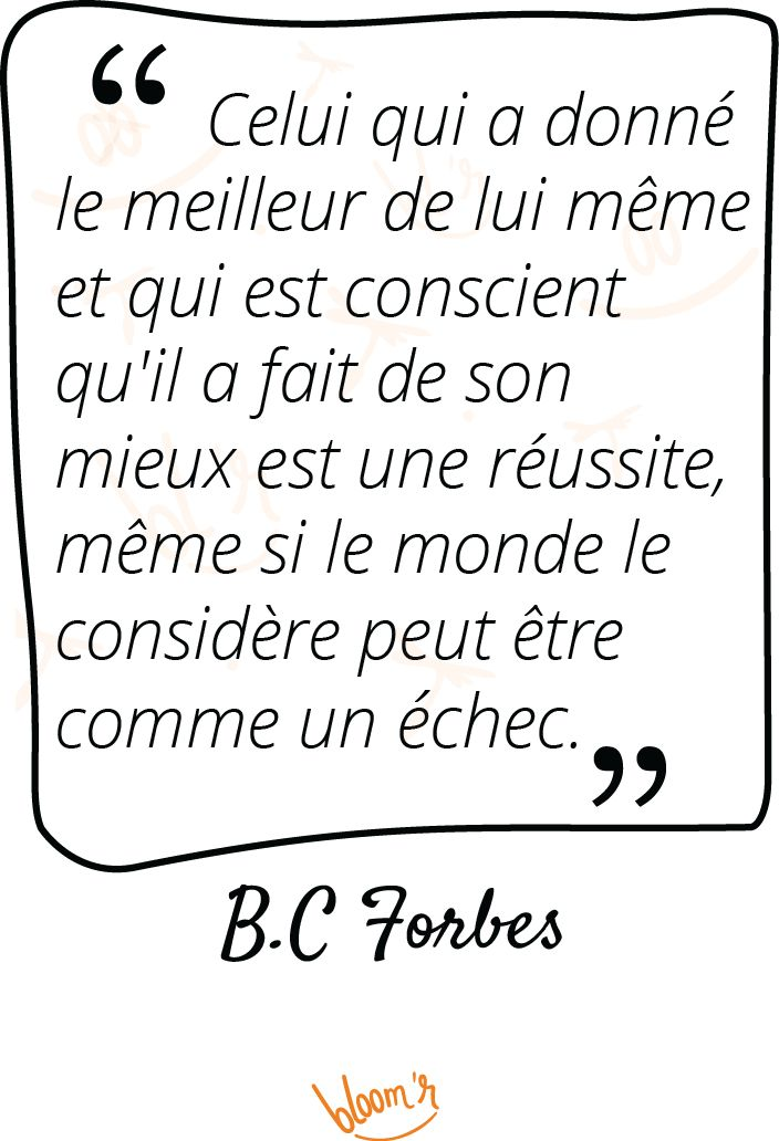 Paroles de sages sur Bloomr #Citations, #Echec, #Effort, #Forbes, #Reussite, #Succes