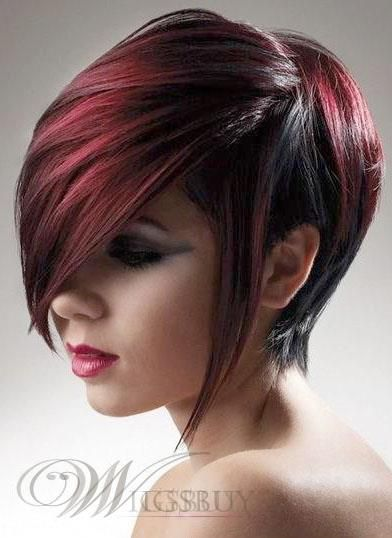 Best Selling Medium Straight Mixed Color Newest Fashion Natural Top Quality Wig 100% Human Hair: wigsbuy.com