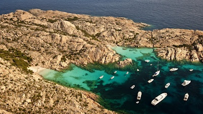 Maddalena Archipelago In Italy  iPhone5 Nature Wallpapers