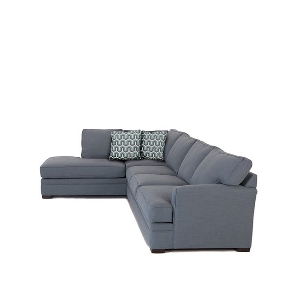 2 Piece Chaise Sectional Mealey 39 S Furniture Pinterest Products Living Rooms And Living