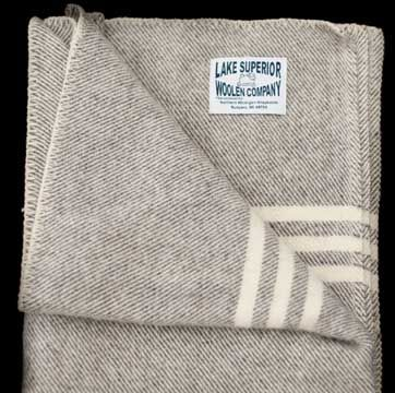 Lake Superior Wollen Company Blankets - 100% Michigan Wool!