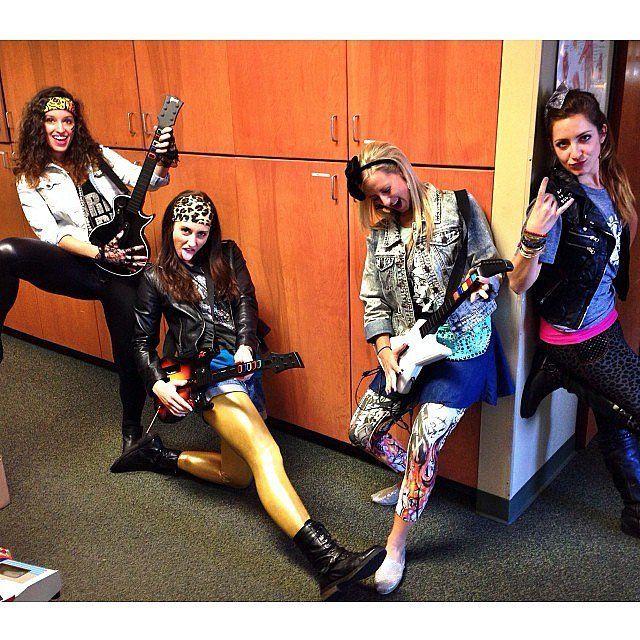 80s beauty guru 80s costumediy halloween - 80s Rocker Halloween Costume