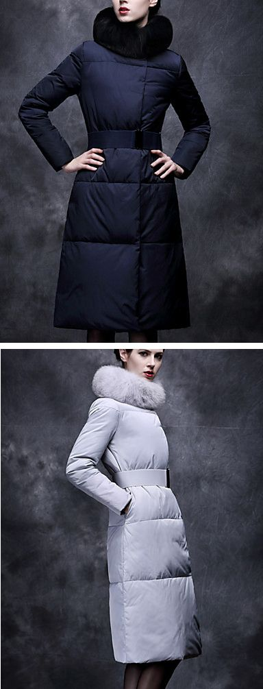Warm a chic winter under coat, comes in snow white and black colors at $40.84.  Only TODAY - 11.11 sale - up to 85% OFF on all categories.