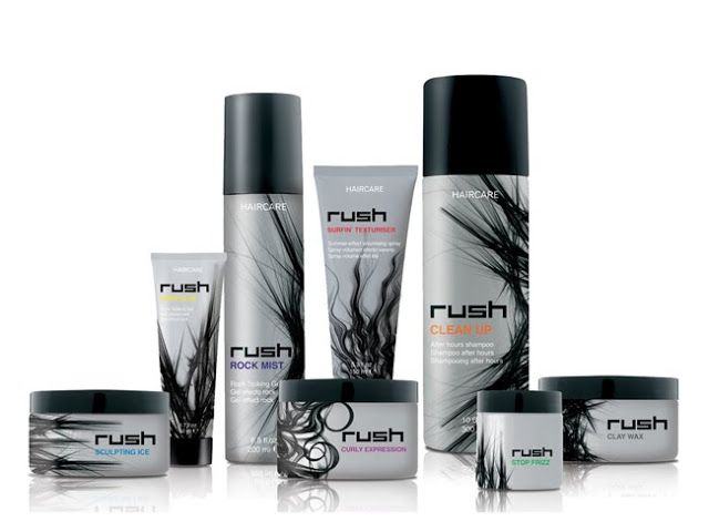 Rush Haircare on Packaging of the World - Creative Package Design Gallery
