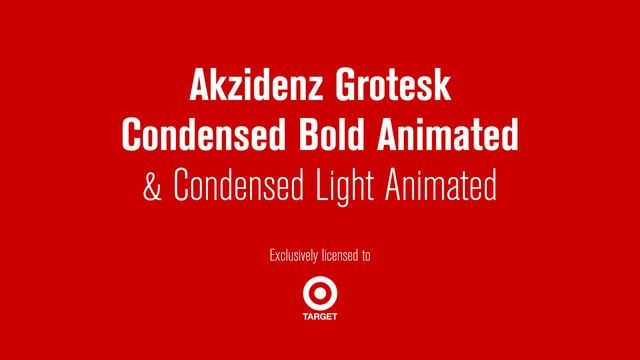 Target asked Calango to produce an animated version of Akzidenz Grotesk, one of the main typefaces in their branding.   Instead of animating each glyph individually, we designed a series of reveals in different styles that could be applied to any glyph. These reveals could be used on complete words or sentences, or mixed with other styles to create surprising combinations. This modular system made it possible to quickly create a versatile animated version of Akzidenz Grotesk in multiple…