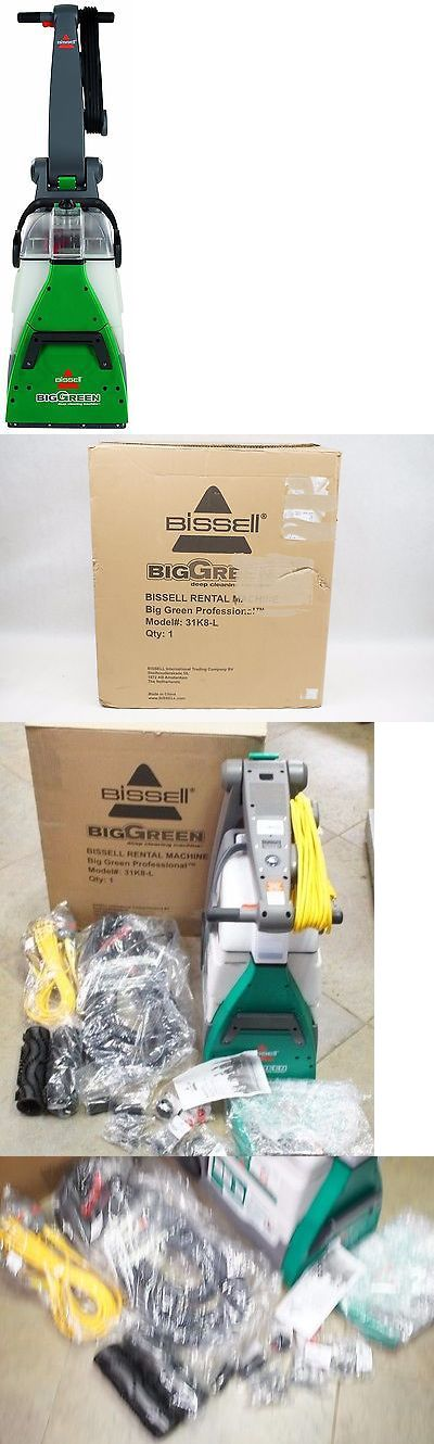 Carpet Shampooers 177746: New Bissell 31K8l Big Green Deep Cleaning Professional Floor Finishing Machine -> BUY IT NOW ONLY: $339.9 on eBay!