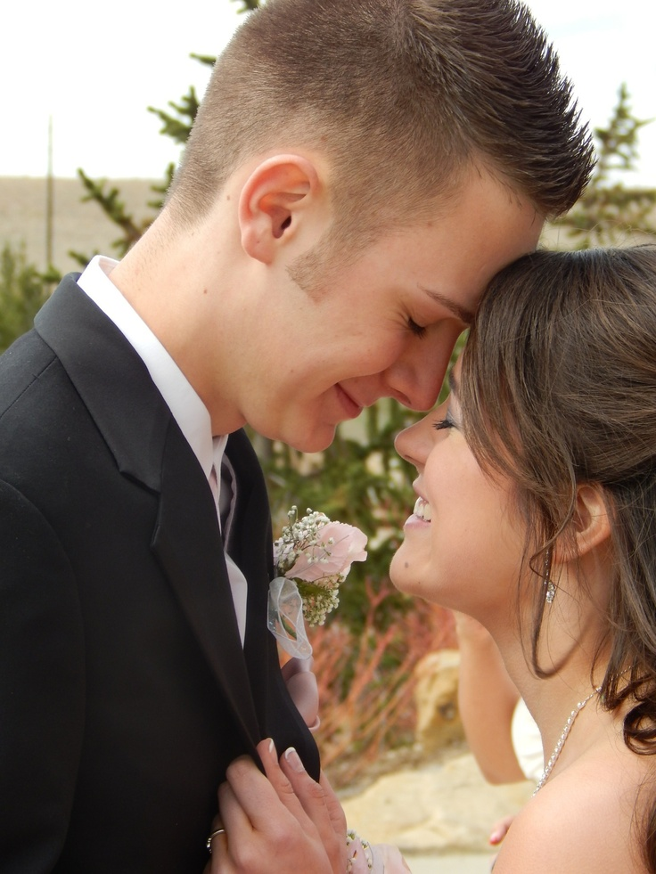 Just a prom picture that was randomly taken, but hopefully our engagement announcement photo one day :)