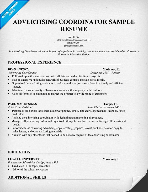 443 best Work images on Pinterest Continuing education, Creative - advertising coordinator resume