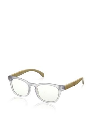 72% OFF Ivory + Mason Men's Bond Eyeglasses, Matte Crystal/Bamboo