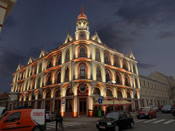 Hotel Astoria 1, Oradea, Romania.