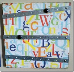 DIY Bulletin Board #2: Lightweight Magnetic Board