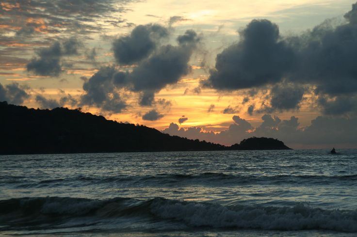 Sunset @Patricia Ong beach
