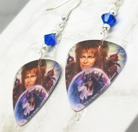 Labyrinth Jareth David Bowie with Sarah in a Crystal Ball ... Labyrinth Ear Band