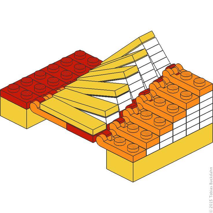 Austauschen von Diagonalen in der Vertikalen