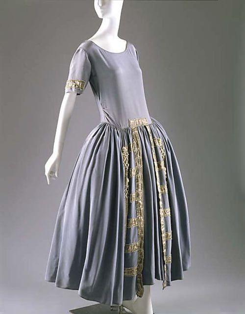 Robe de Style  Jeanne Lanvin, 1922  The Metropolitan Museum of Art