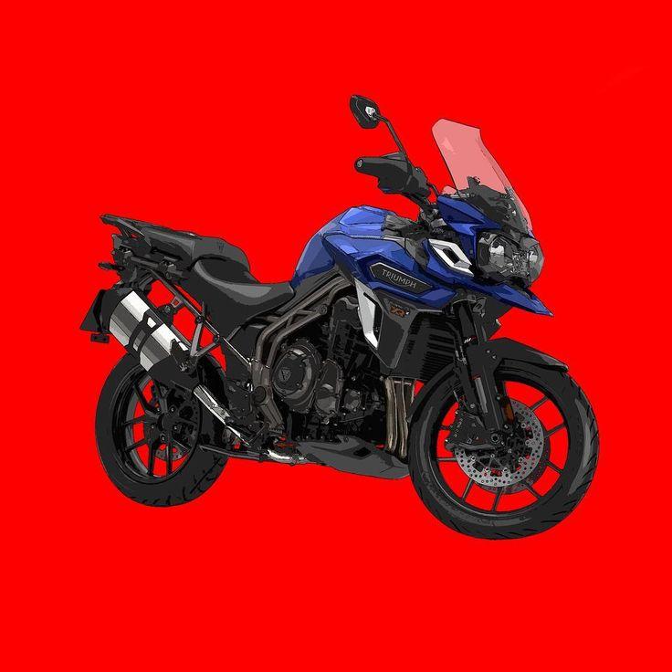 Triumph Tiger Explorer XRX  Si te gustan mis trabajos, Sígueme. If you like my artworks, Follow me.  #triumph #tiger #explorer #xrx #triumphmotorcycle #triumphmotorcycles #triumphtiger #triumphtigerexplorer #triumphtigercub #tigerexplorer #explorerxrx #2016 #moto #motocycle #motorbike #motorbike #alvarodintenmoto  #dibujo #diseño #draw #design #red #triumphexplorer #triumphexplorer1200 #tiger1200 #tigerxrx #triumphespana #triumphspain
