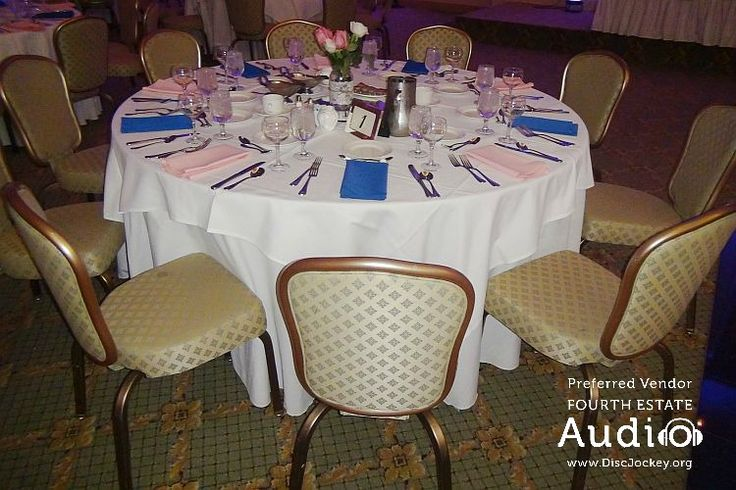 An elegant tablescape at Meridian Banquets. http://www.discjockey.org/meridian-banquet-and-conference-center/