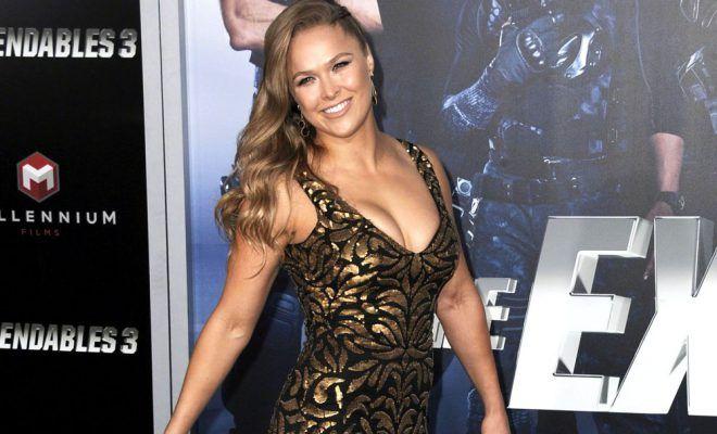 Ronda Rousey will have backyard wedding
