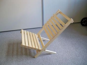 diy klappstuhl steckstuhl lehnstuhl sessel anleitung selbst bauen sitzen und liegen. Black Bedroom Furniture Sets. Home Design Ideas