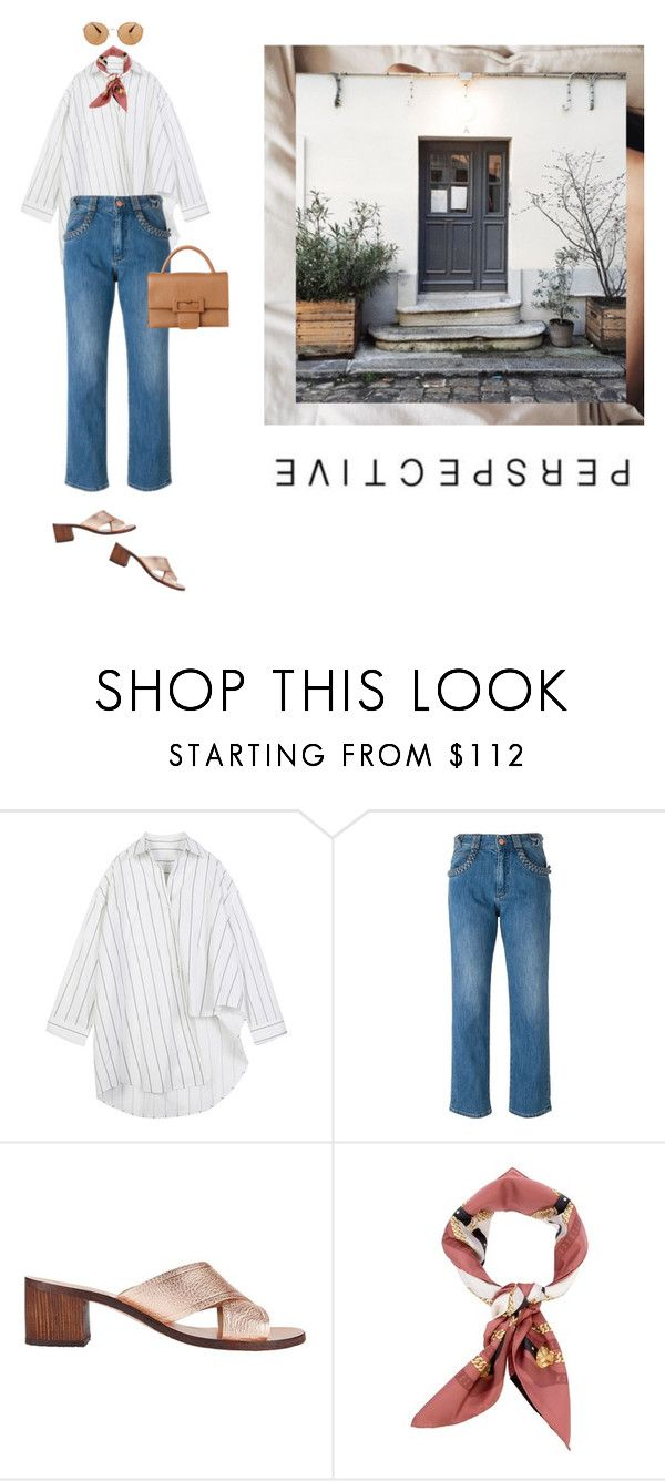 """""""Untitled #2208"""" by yenybarriot on Polyvore featuring See by Chloé, Ancient Greek Sandals and Gucci"""