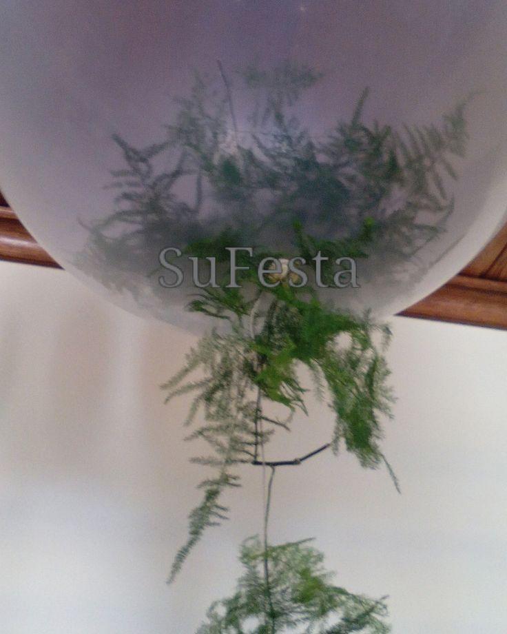 Geronimo Ballons Decoração casamento com verduras e balões