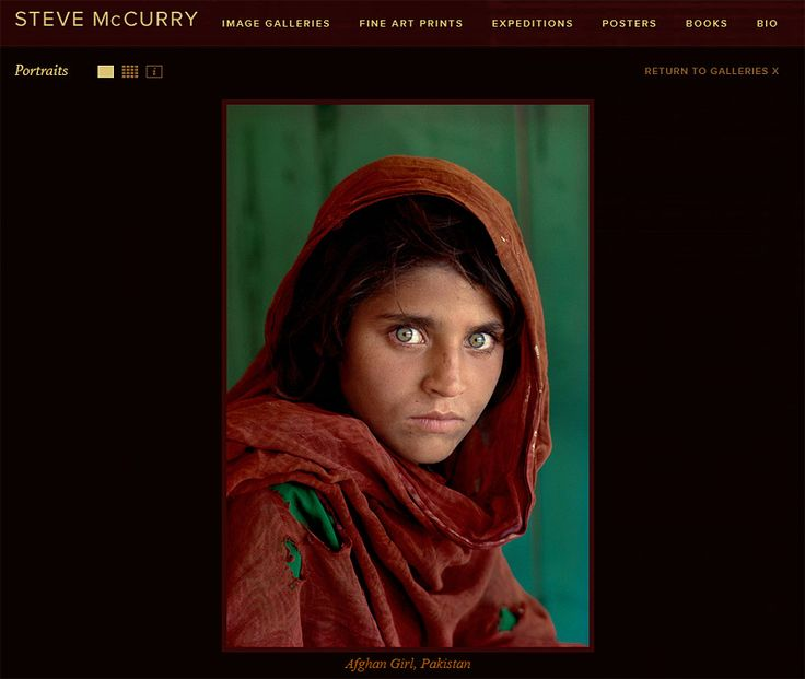 Steve McCurry on Portrait Photography Masters - a Very Subjective List by Delicious Presets.    #portraitphotography #portraits #portraitphotographers