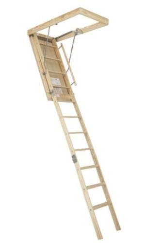 Best Century Be 89 Windsor Wooden Attic Stairway 25 5 X 54 640 x 480