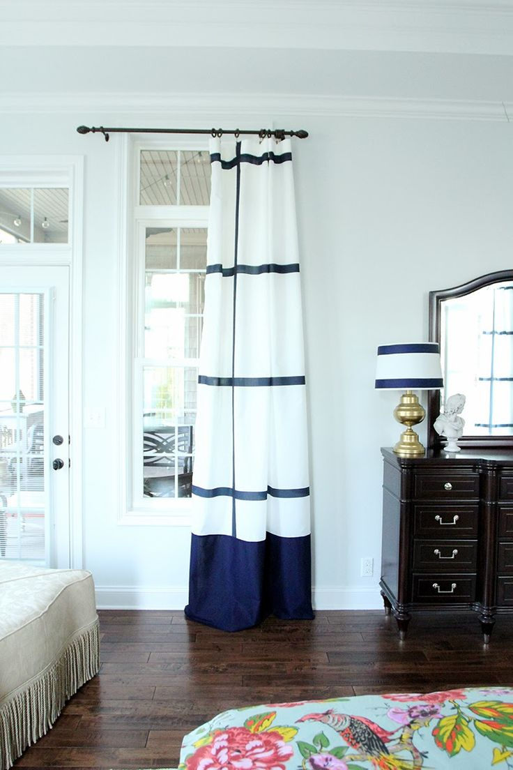 17 best ideas about navy curtains bedroom on pinterest for Navy blue curtains ikea