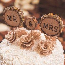 Romantic unique wedding cake toppers 17