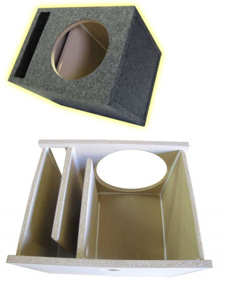 Speaker Sub Enclosures: 10 Single Labyrinth Slot Vented Subwoofer Box 3/4 1.10 Cu Ft Hd Partical Board -> BUY IT NOW ONLY: $34.95 on eBay!