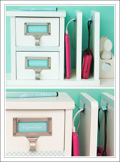 Desk Organizer Phone Holder Charger All Around The House