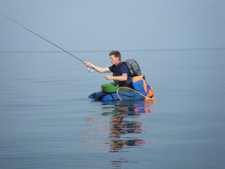 Bob tried fly fishing from a flotation ring. One day he got too far out and drifted in the Gulf Of Mexico for three days.