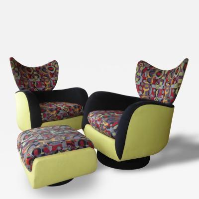 Pair Of Directional Swivel/Rocker Lounges By Vladimir Kagan By Vladimir  Kagan · Möbel Mitte Des JahrhundertsModerne ...