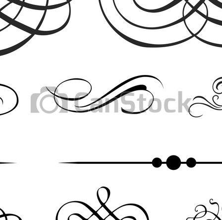 Vector Illustratie van Victoriaans, Vector, ornament, Set - Set, van,... csp5217007 - Zoek naar Clipart, Illustratie, Tekeningen en EPS Clip Art Grafieken Beelden
