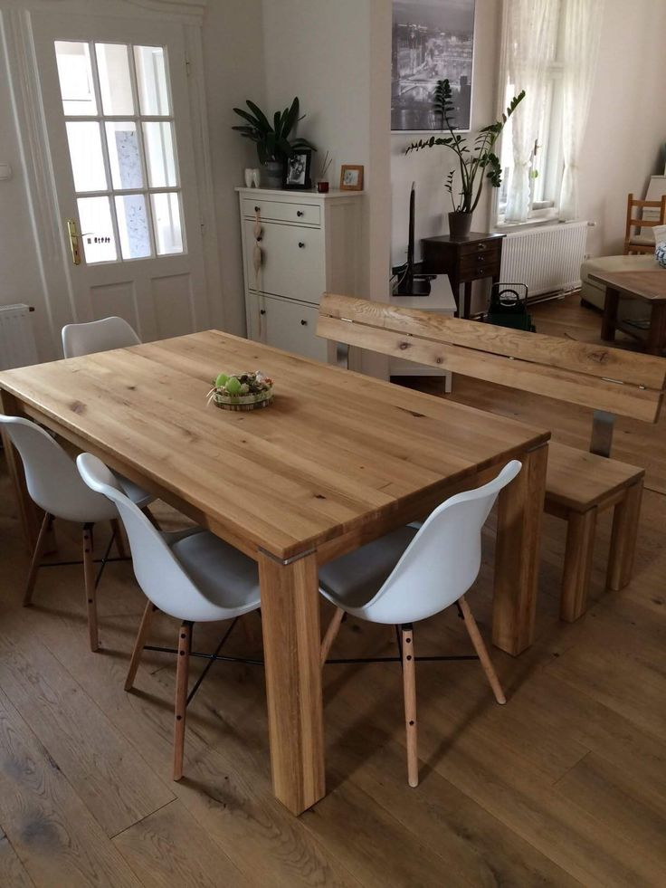 Our solid wood folding tables (rustical oak with bio oil)