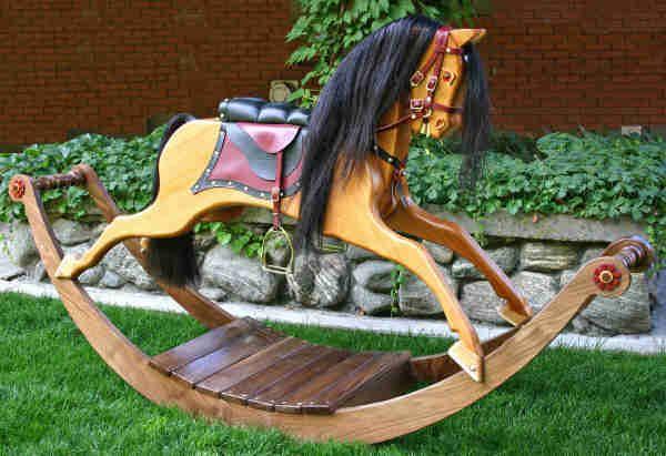 English rocking horse plans