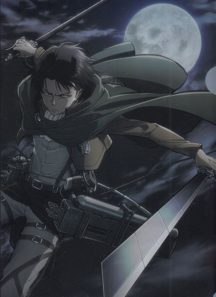 99% sure that Levi is wearing eyeliner tbh