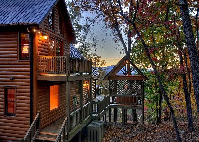 Breathtaking Cabin - Long Range View- Hot Tub- Game Room- 3 bedrooms - Image 1 - Blue Ridge - rentals