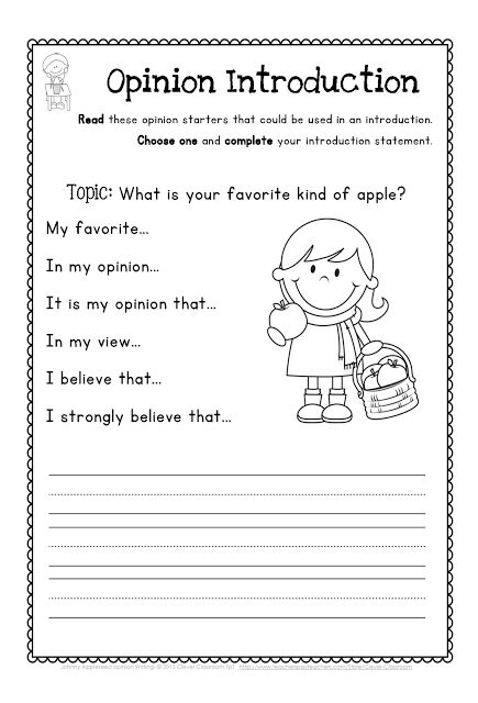 writing topics for second grade